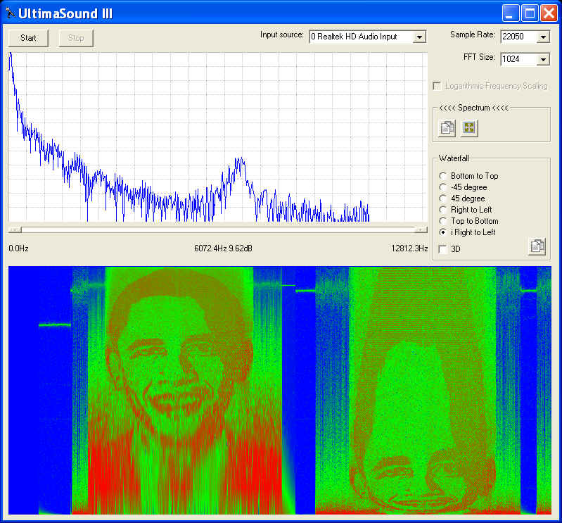 UltimaSound: A free audio speech and music spectrogram software